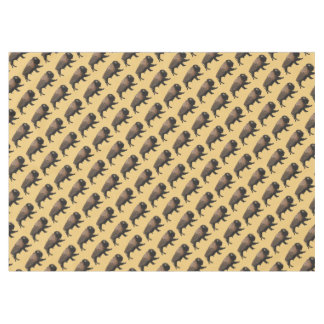 Galloping Bison Tablecloth