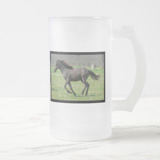 Galloping Colt Beer Mug