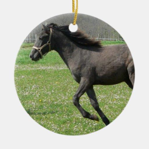 Galloping Colt Ornament