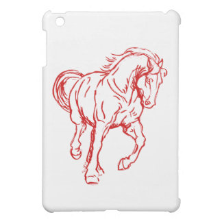 Galloping Draft Horse iPad Mini Case