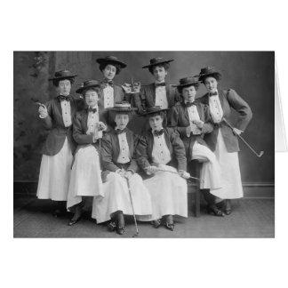 Galloping Gaily Chorus, early 1900s Card