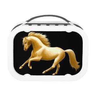 Galloping Golden Horse Lunchbox