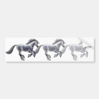 Galloping Greys Bumper Sticker