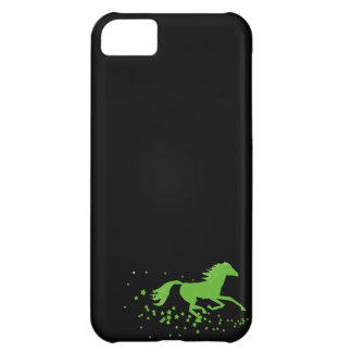 Galloping horse and stars wild horse silhouette iPhone 5C covers