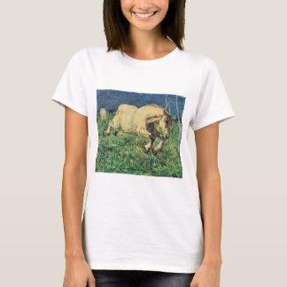 Galloping Horse by Giovanni Segantini, Vintage Art T-Shirt