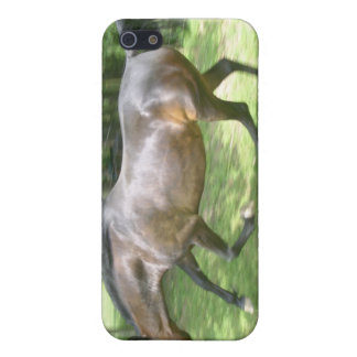 Galloping Horse Cover For iPhone 5