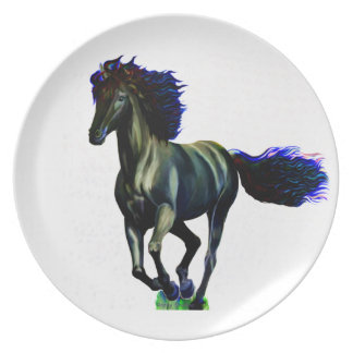 Galloping Horse Dinner Plate