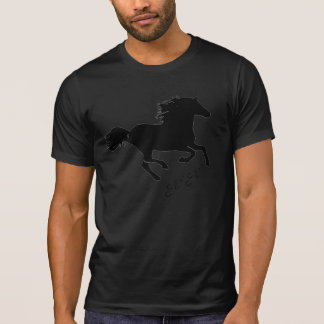 Galloping Horse & Horse Shoes T-shirt