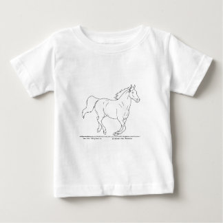 Galloping Horse Infant T-shirt