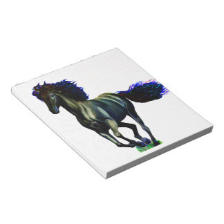 Galloping Horse Memo Pad