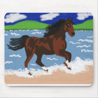 Galloping Horse Mouse Pad