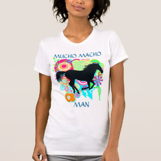 Galloping horse - MUCHO MACHO MAN - Winning - T-Shirt