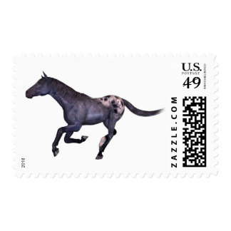 galloping horse postage