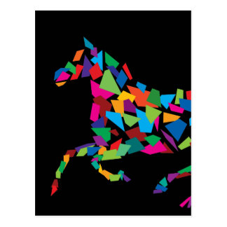 Galloping Horse Postcard