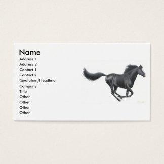 Galloping Horse Profile Card