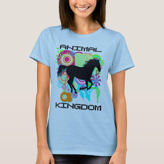 Galloping horse silhouette - ANIMAL KINGDOM T-Shirt