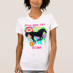 Galloping horse silhouette - RULER ON ICE! Tanktops