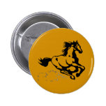 Galloping Horse Wild and Free Pins