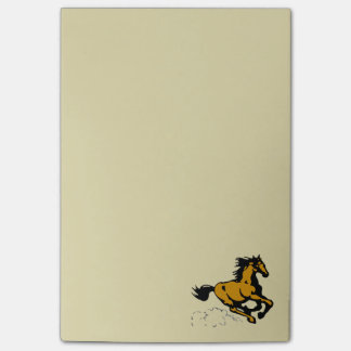 Galloping Horse Wild and Free Post-it Notes