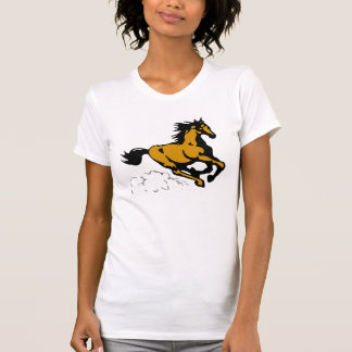 Galloping Horse Wild and Free Tee Shirt
