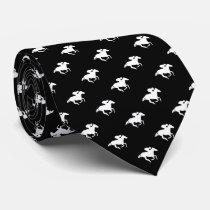 Galloping Horseman Pattern | Derby Neck Tie