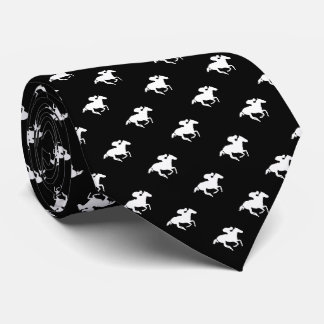 Galloping Horseman Pattern | Derby Neck Tie