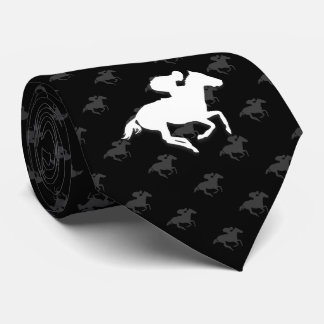 Galloping Horseman | Sports Gifts Neck Tie