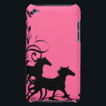 "Galloping horses barely there iPod cover<br><div class=""desc"">Galloping horses</div>"