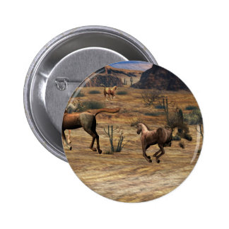 Galloping Horses Buttons