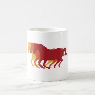 Galloping Horses Coffee Mug