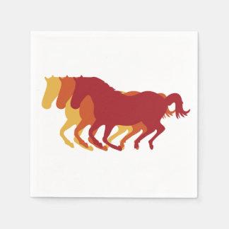 Galloping Horses Napkin