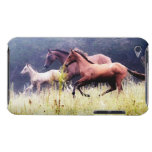 Galloping Horses Photography Barely There iPod Covers