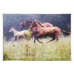 Galloping Horses Photography Place Mats