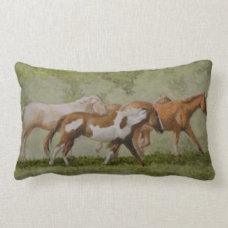 Galloping Horses Pillow