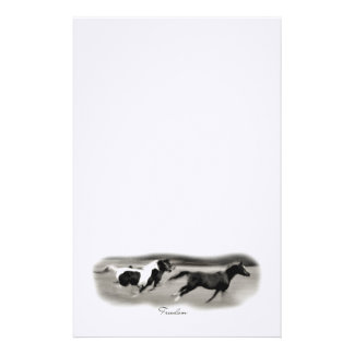 Galloping Horses Stationery