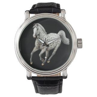 Galloping Leopard Appaloosa Horse Watch