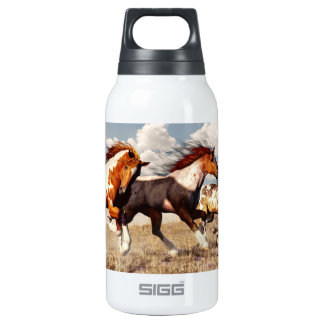 Galloping Mustangs Insulated Water Bottle
