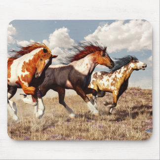 Galloping Mustangs Mouse Pad