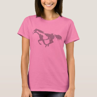 Galloping Paint Horse T-Shirt