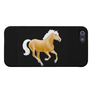 Galloping Palomino Haflinger Horse Speck Case