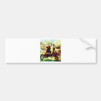 Galloping Patriot Bumper Sticker