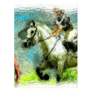 Galloping Postcard