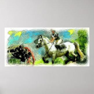 Galloping Poster
