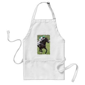 Galloping Race Horse Apron