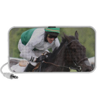Galloping Race Horse Portable Speakers