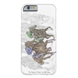 Galloping Race Horses Barely There iPhone 6 Case