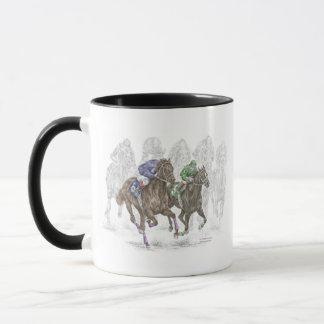 Galloping Race Horses Mug