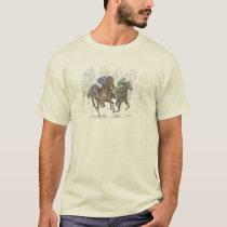 Galloping Race Horses T-Shirt