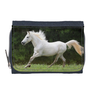 Galloping White Horse Wallet
