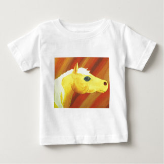 Galloping wild horse, by Charli Windsor Baby T-Shirt